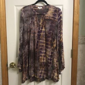 Umgee tie dye boho dress size M